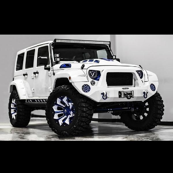 Modifikasi Jeep Wrangler ala Stormtrooper
