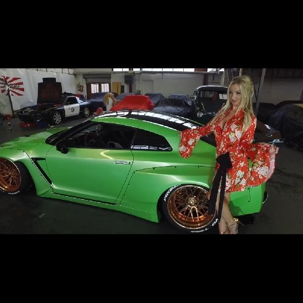 Modifikasi Nissan GT-R: Sangat Seksi Seperti Orangnya