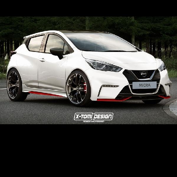 Modifikasi Nissan March Kian Agresif