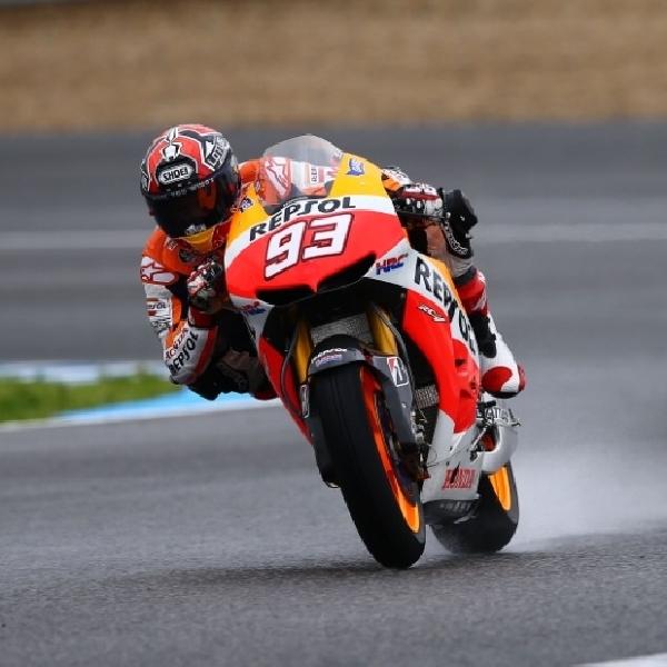 MotoGP: Marquez Cukup Senang Finish di posisi Kedua