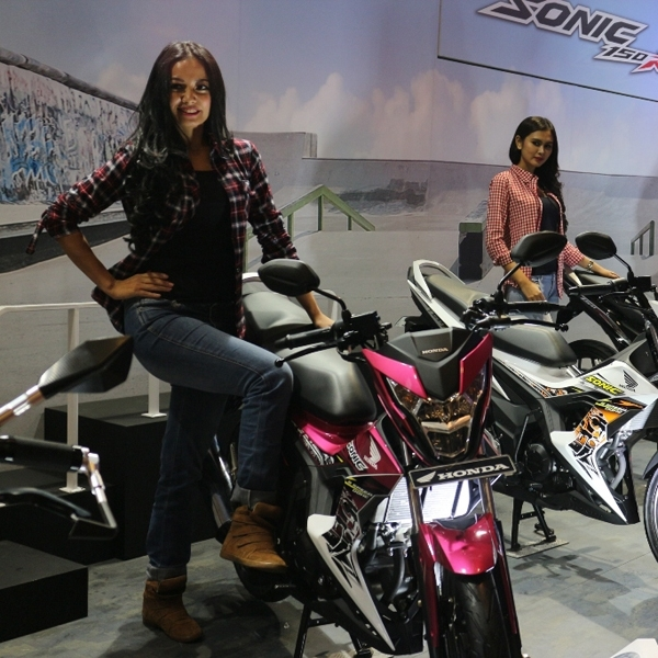 New Honda Sonic 150R Laku Keras di Jakarta