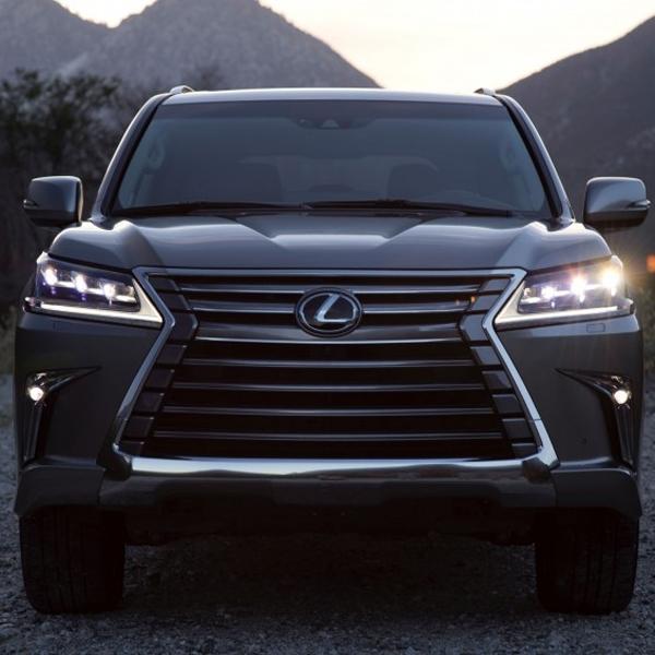 New Lexus LX 570 Bersiap Diluncurkan