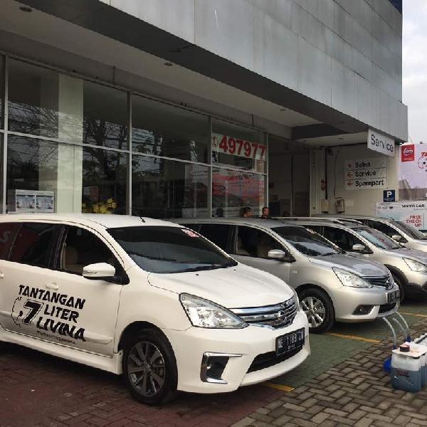 Madiun-Yogyakarta, Nissan Livina Hanya 'Minum' 7 Liter