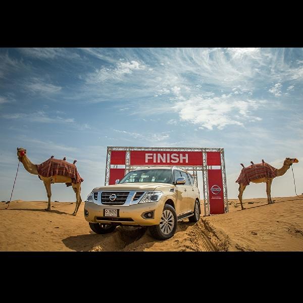 Nissan Timur Tengah Perkenalkan Konsep Camel Power
