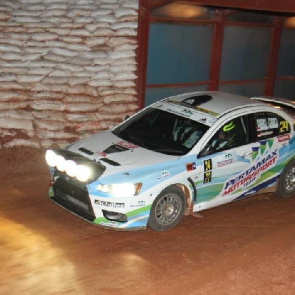Rizal Sungkar Kuasai Kejurnas Sprint Rally 2017