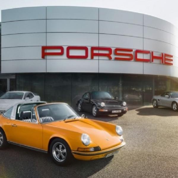 Porsche Buka Pusat Perawatan dan Penjualan Mobil Klasik