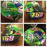 MotoGP: Keluarga Hayden dapat Helm Spesial dari Rossi