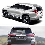 3 Perbedaan Tampilan Luar Toyota All New Fortuner dan Mitsubishi All New Pajero Sport 2016