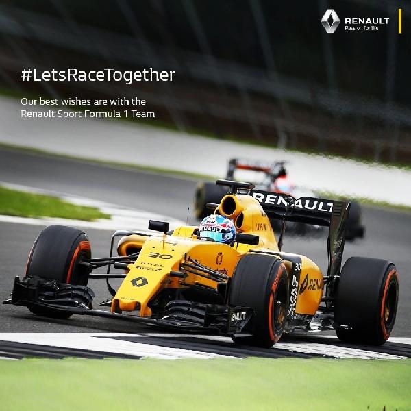 F1: Renault Senang dengan Kinerja kedua Pebalapnya