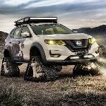 Nissan Rogue Trail Warrior akan Tampil dengan Ban Tank
