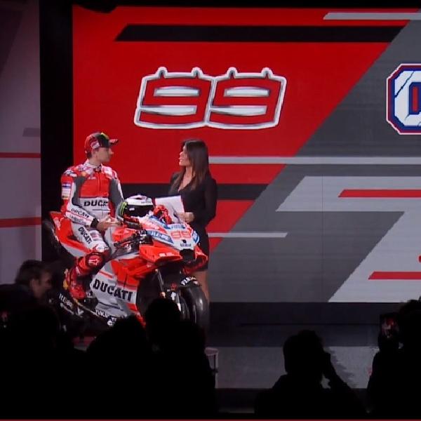 MotoGP: Resmi Diluncurkan, Ducati Desmosedici GP18 Punya Corak Baru