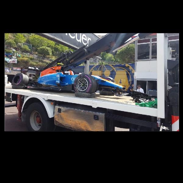 F1: Rio Haryanto Alami Insiden di FP2 GP Monaco