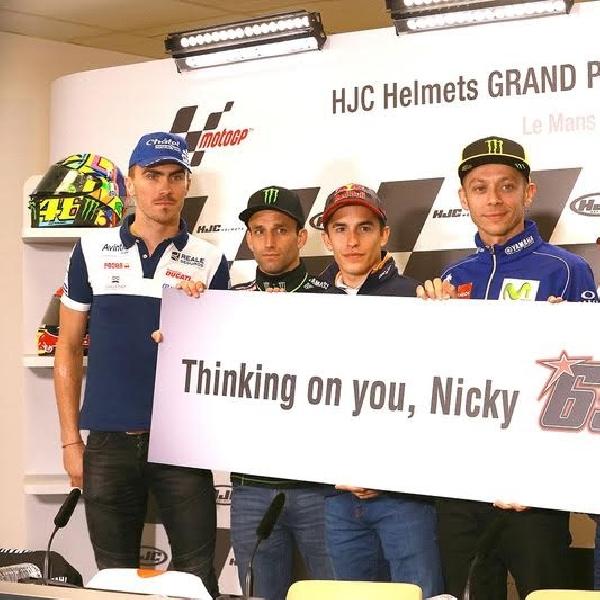 MotoGP: Rossi dan Marquez Berharap yang Terbaik untuk Hayden