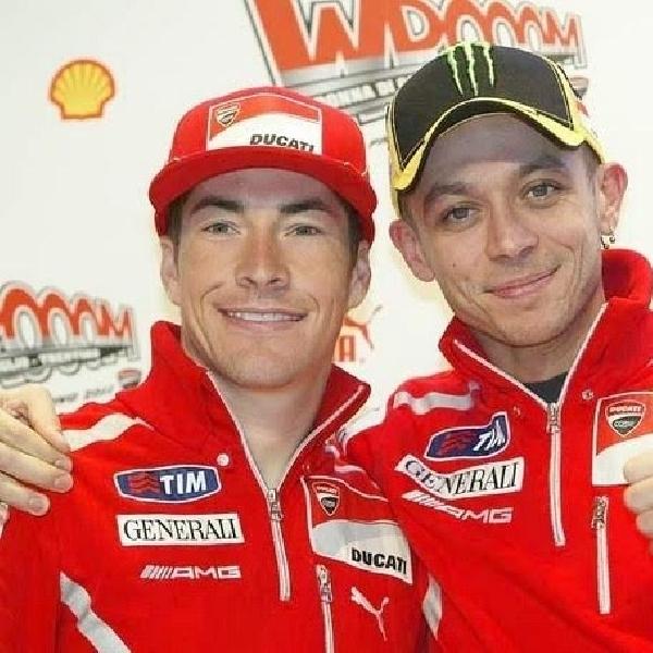 MotoGP: Rossi Tulis Pesan Menyentuh Hati untuk Hayden