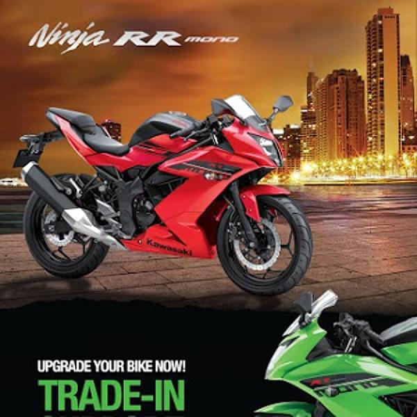 Kawasaki Berikan 2 Program Khusus, Program Tread-in dan Free Branded Riding Gears