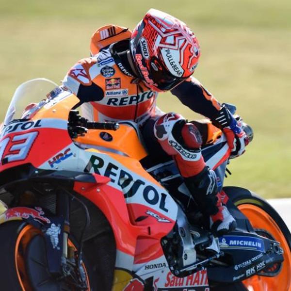 MotoGP Australia: Marquez Gagal Finis, Dovizioso Amankan Jarak