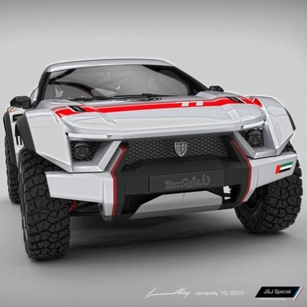 Zarooq Motors Rilis Prototipe Mobil Off Road