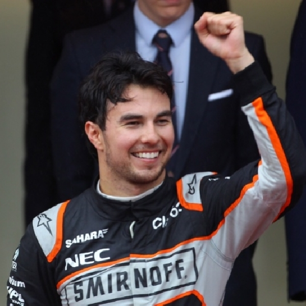 Tanpa Dugaan Sergio Perez Raih Podium Ketiga di Gp Monaco