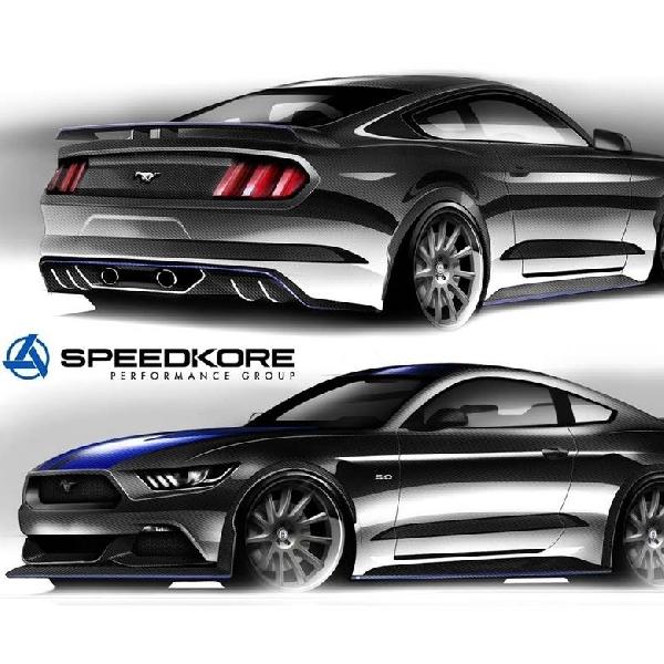 Enam Modifikasi Mustang di SEMA 2016