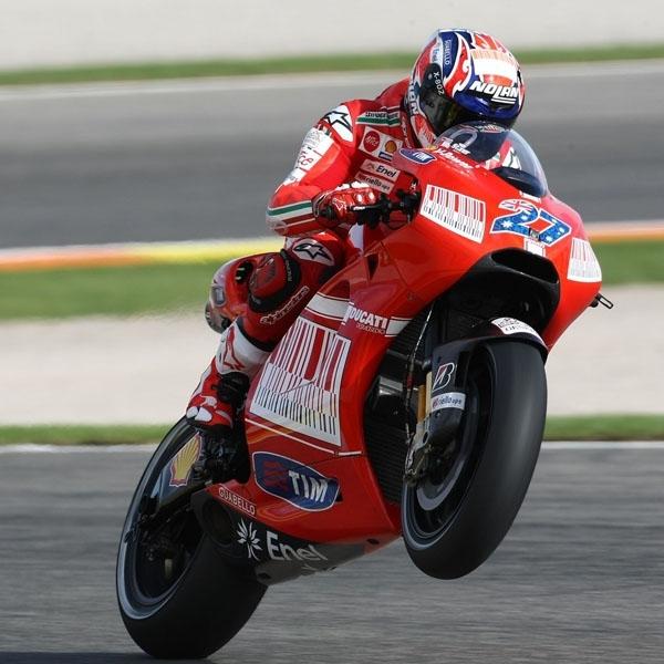 MotoGP: Stoner Ingin Kembangkan Rangka Karbon Ducati