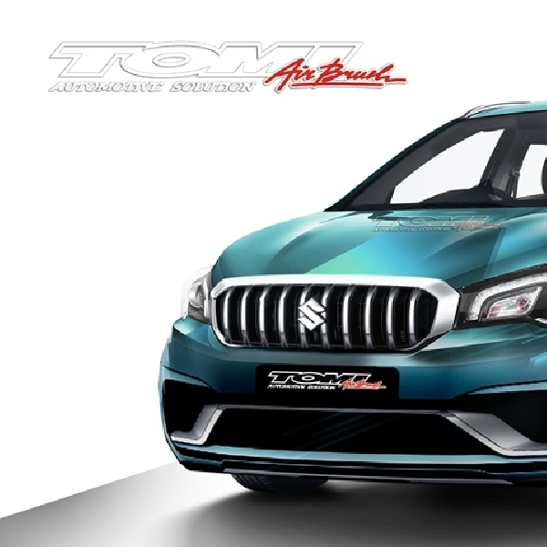 Dua Konsep Modifikasi Virtual New Suzuki SX4-Cross