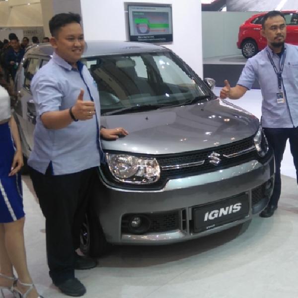 GIIAS 2017: Suzuki Resmi Luncurkan Ignis versi Manual