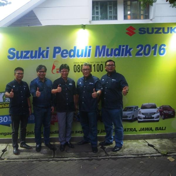 Suzuki Peduli Mudik 2016 Siap Kawal Perjalanan Anda Sampai Kampung