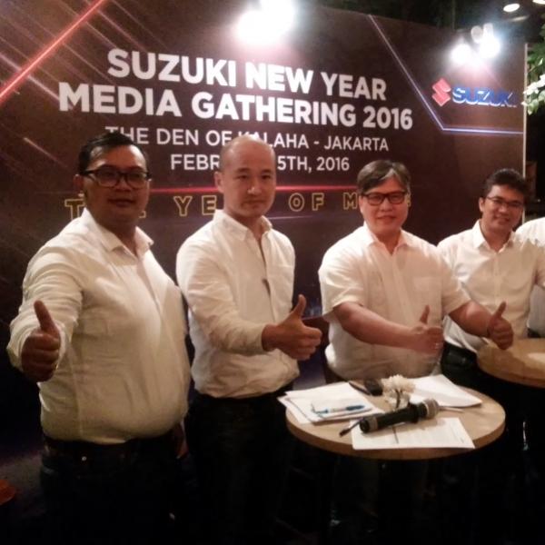 Suzuki Tetap Tumbuh Meski Surutnya Perekonomian Nasional
