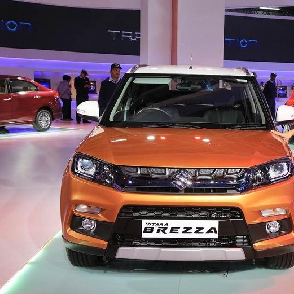 Suzuki Vitara Brezza Hadir Lebih Sporty