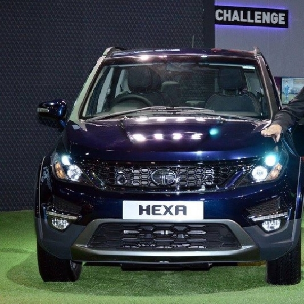 Tata Hexa Tampil Perdana di Auto Expo 2016