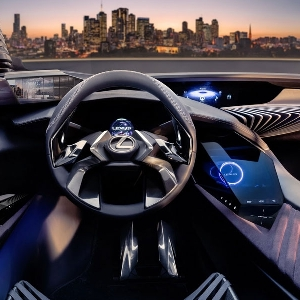 Teknologi Hologram pada Interior Lexus UX