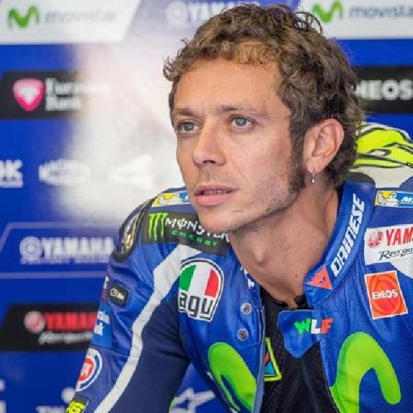 MotoGP: Terjatuh dan Tidak Bisa Lanjutkan Balapan, Rossi Tuding Vinales Curang