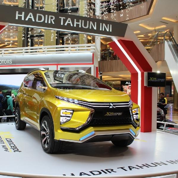 Mitsubishi XM Concept Sambangi Kota Bandung