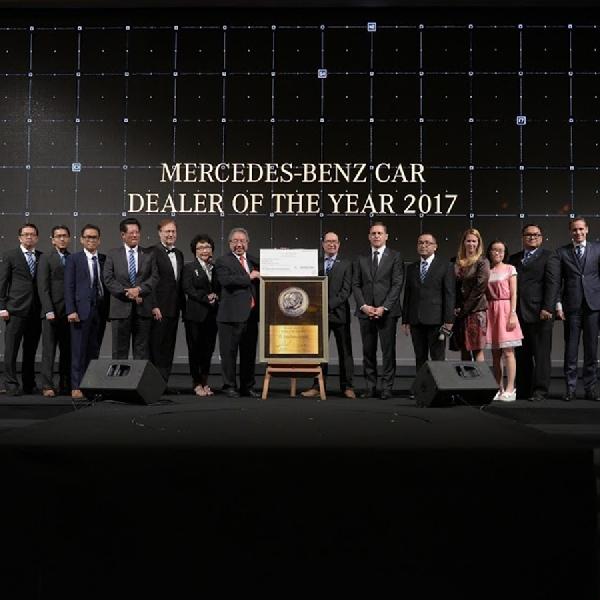 PRO Motor Raih Gelar Mercedes-Benz Dealer of the Year