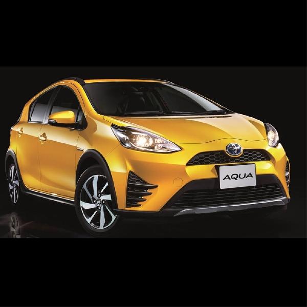 Toyota Aqua dapat Penyegaran: Ada Varian Crossover