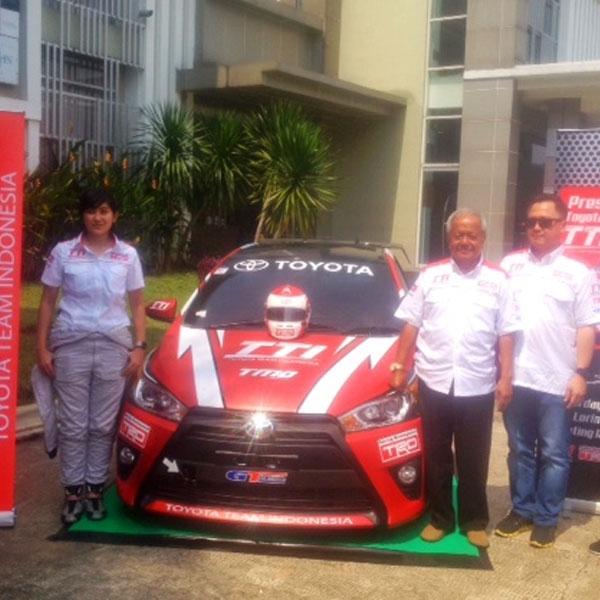 Toyota Team Indonesia kembali berlaga di dunia balap touring