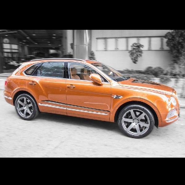 Tuner DMC Racik Performa Bentley Bentayga Jadi Melimpah