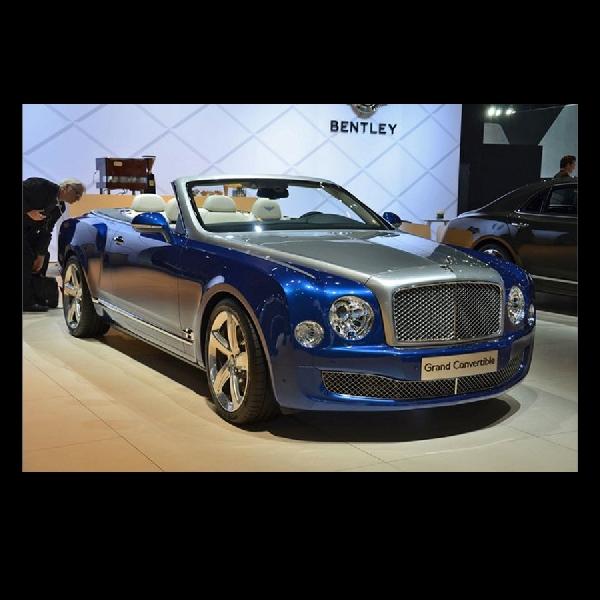 Bentley Akhirnya Memutuskan Bakal Produksi Mulsanne Convertible