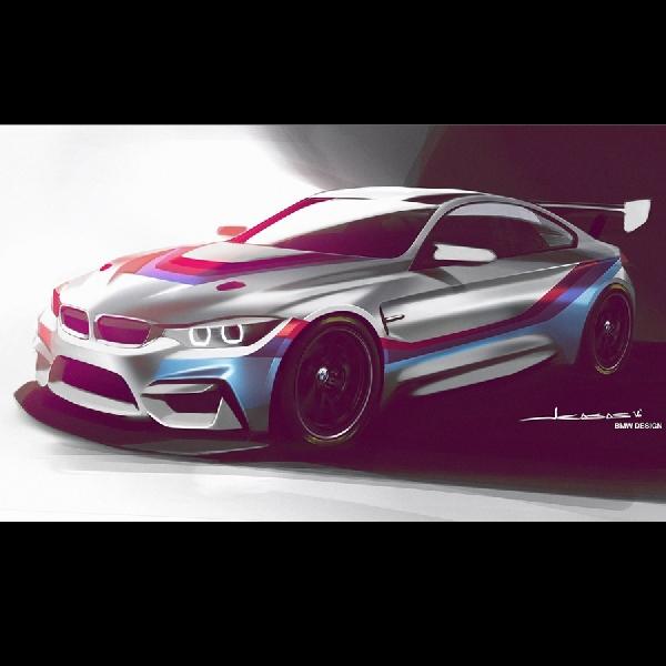 Inikah wajah mobil balap BMW yang akan berlaga tahun 2018?