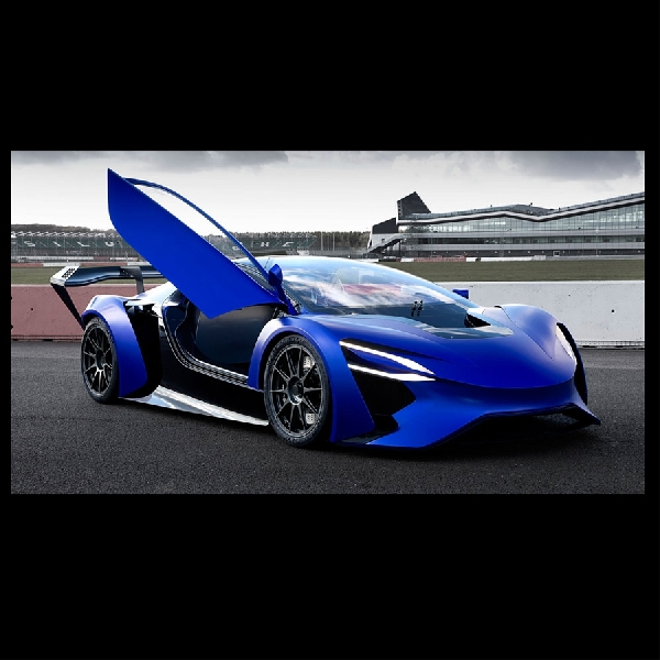 Techrules, Start-up Otomotif Cina Produksi Supercar GT96