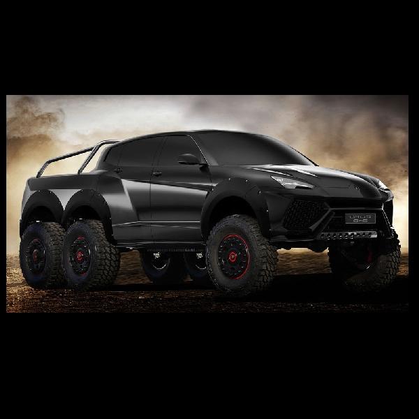 Kelahiran Sang Predator Urus SUV 6x6, Penantang Mercy G63 AMG