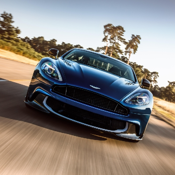 Vanquish S, Grand Tourer Terkuat Aston Martin
