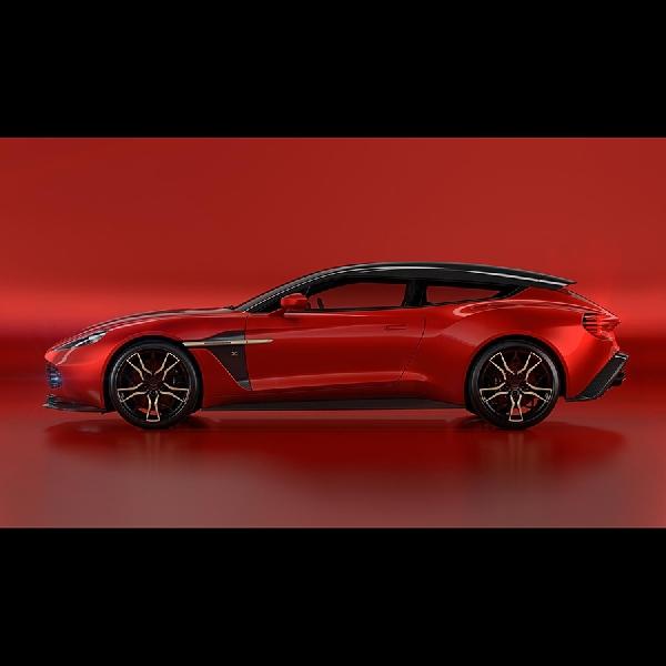 Aston Martin Ungkap Lagi Bentuk Shooting Brake Zagato