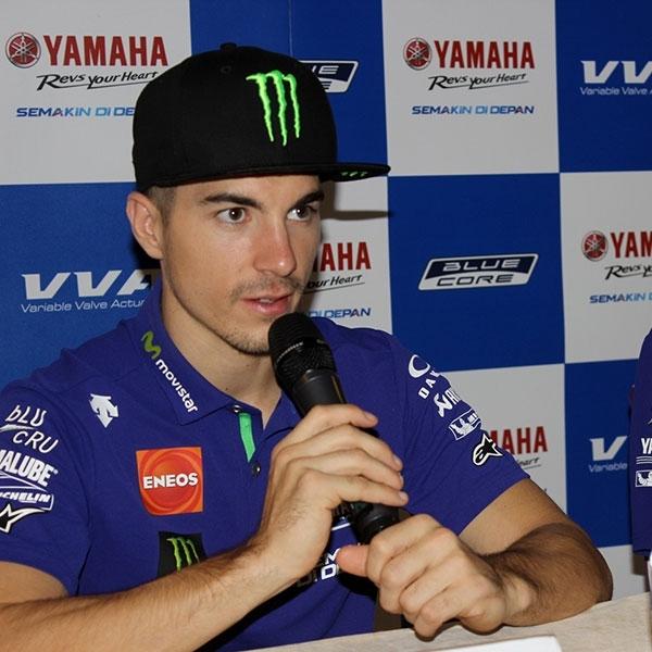 MotoGP: Vinales Sayangkan Rossi Absen di Misano