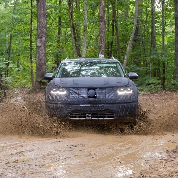 Uji Coba Sosok Crossover VW Terkuak