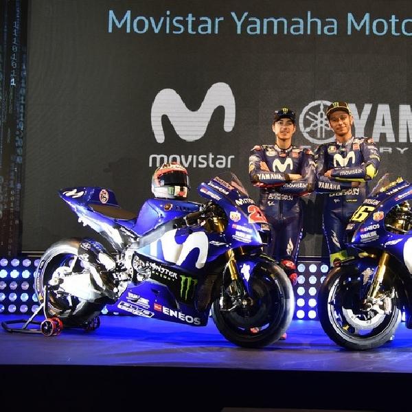 MotoGP: Yamaha YZR-M1 2018 akan Tampil dengan Livery Baru di Sepang
