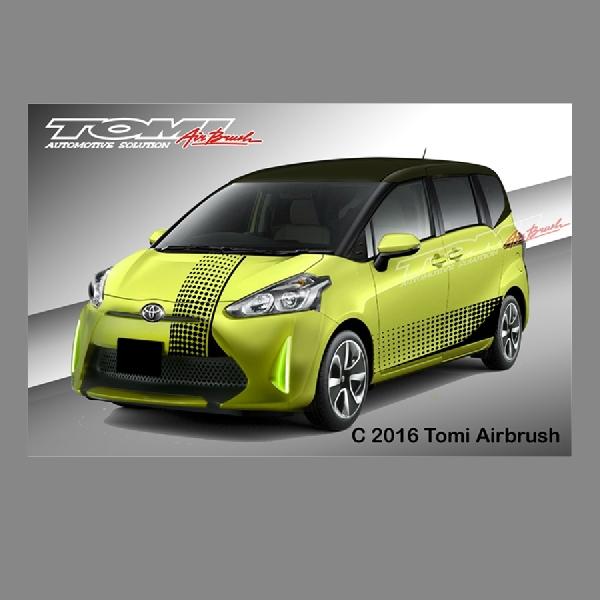Modifikasi Virtual: Bikin Trendi Tampang Toyota Sienta