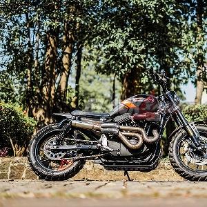 Modifikasi Harley Davidson Sportster XL 1200, Daily Scrambler