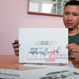 Modifikasi Simple Audi A3 Sportback, Pertajam Line Sporty