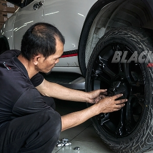 Modifikasi Velg New Toyota Fortuner - Lebih Besar Dengan Traksi Maksimal